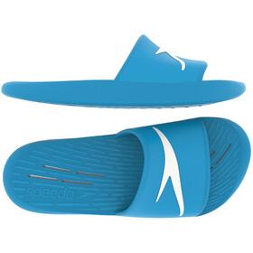 speedo Claquettes Enfant, windsor blue/white